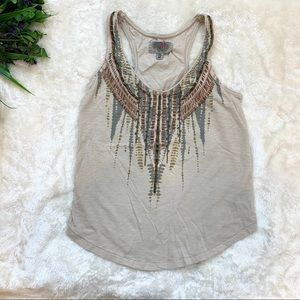 5/$25 Urban Outfitters ecote Tribal Tank Top